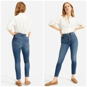 Everlane Stretch High-Rise Skinny Button Fly Jean